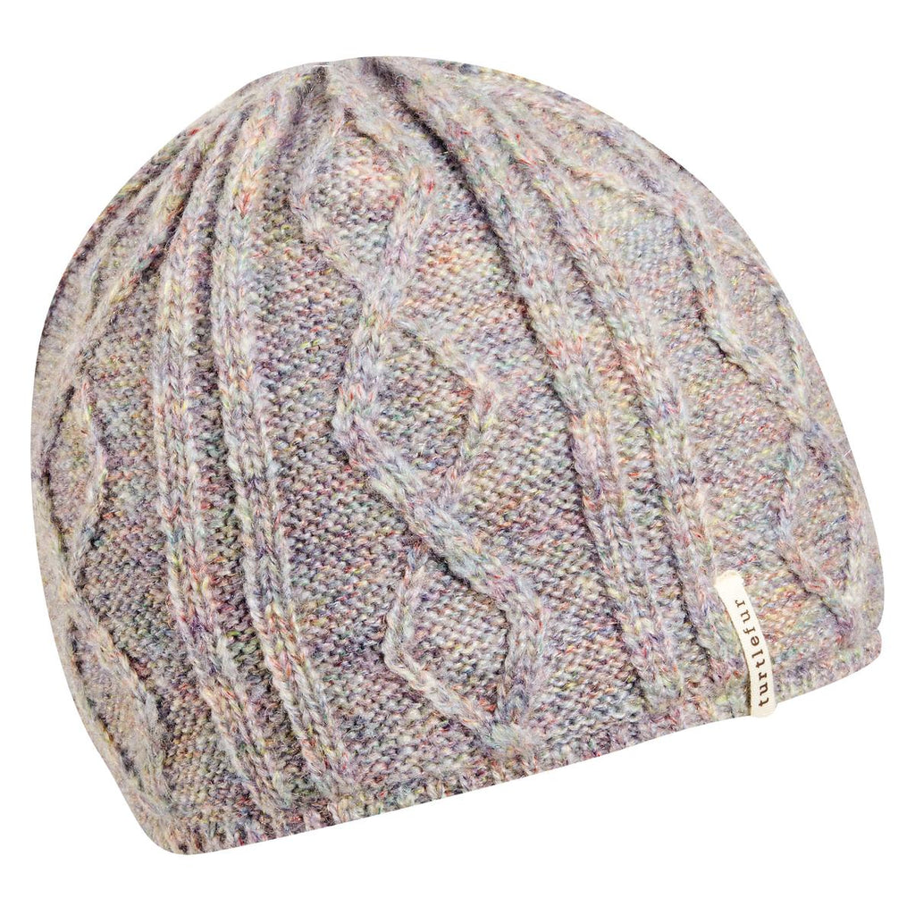 Monica Knit Beanie / Color-Fog