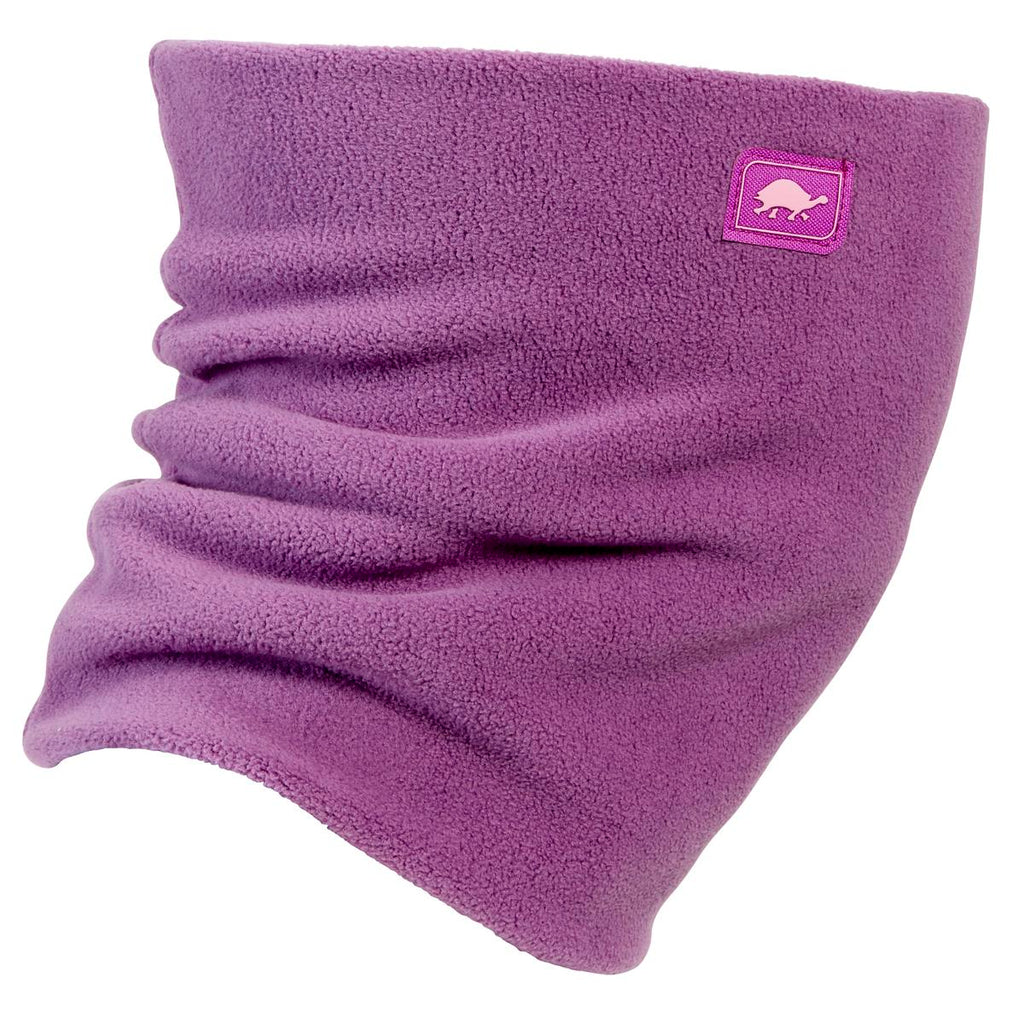 Double-Layer Classic Neck Warmer / Color-Lilac