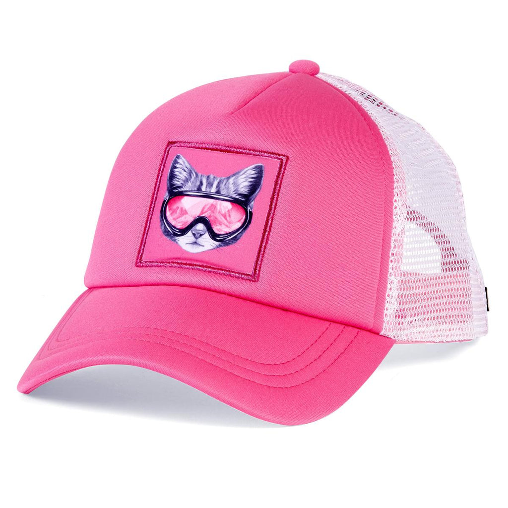 Snow Creature Trucker / Color-Snowcat