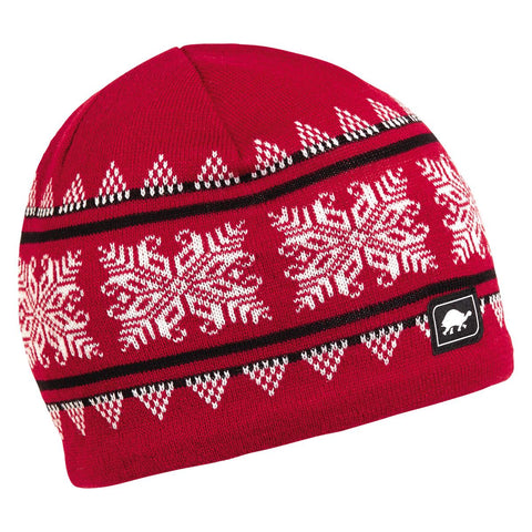 Astrid Knit Beanie / Color-Red