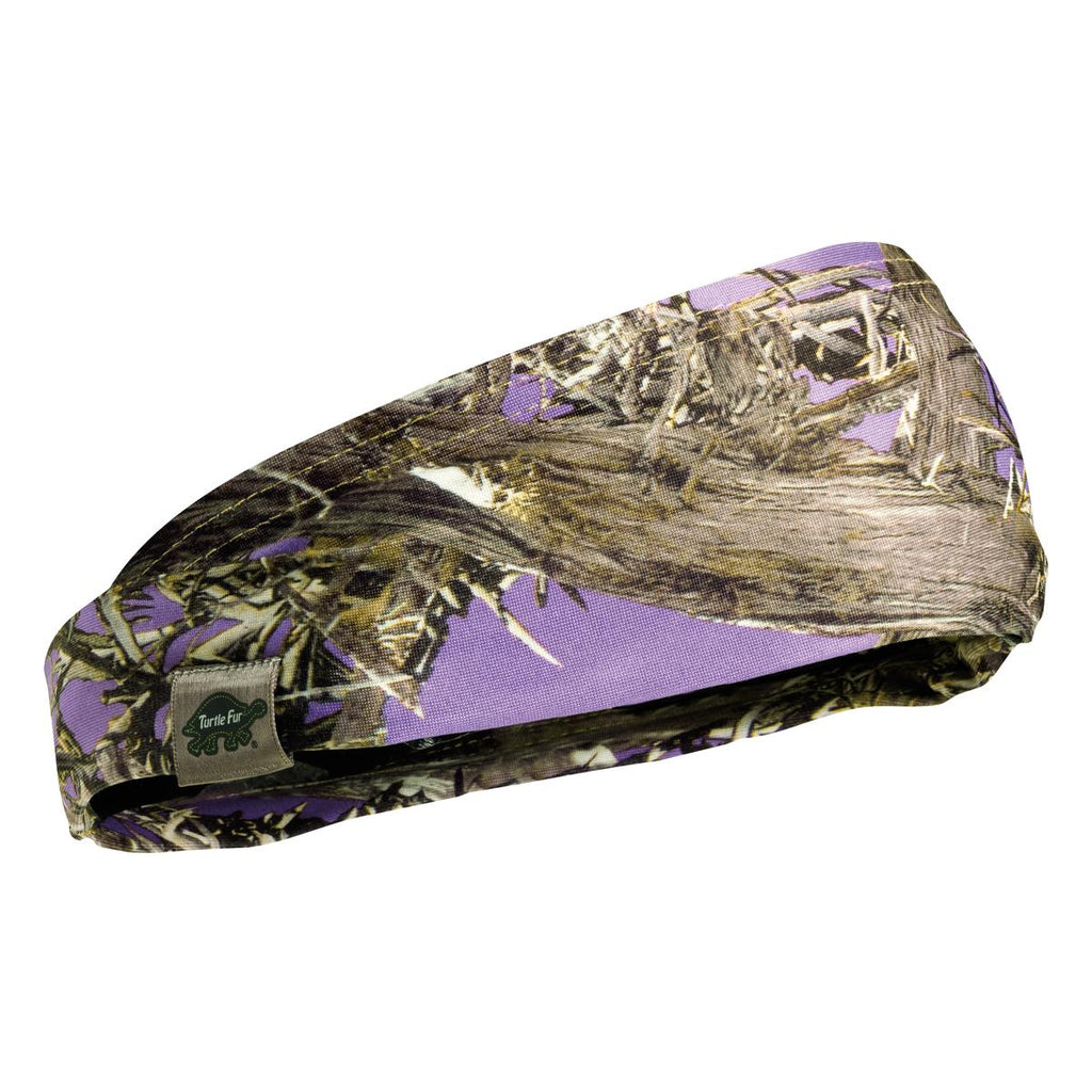 La Bandita Lightweight Headband, Lifestyle Camo Prints / Color-TrueTimber MC2 Purple
