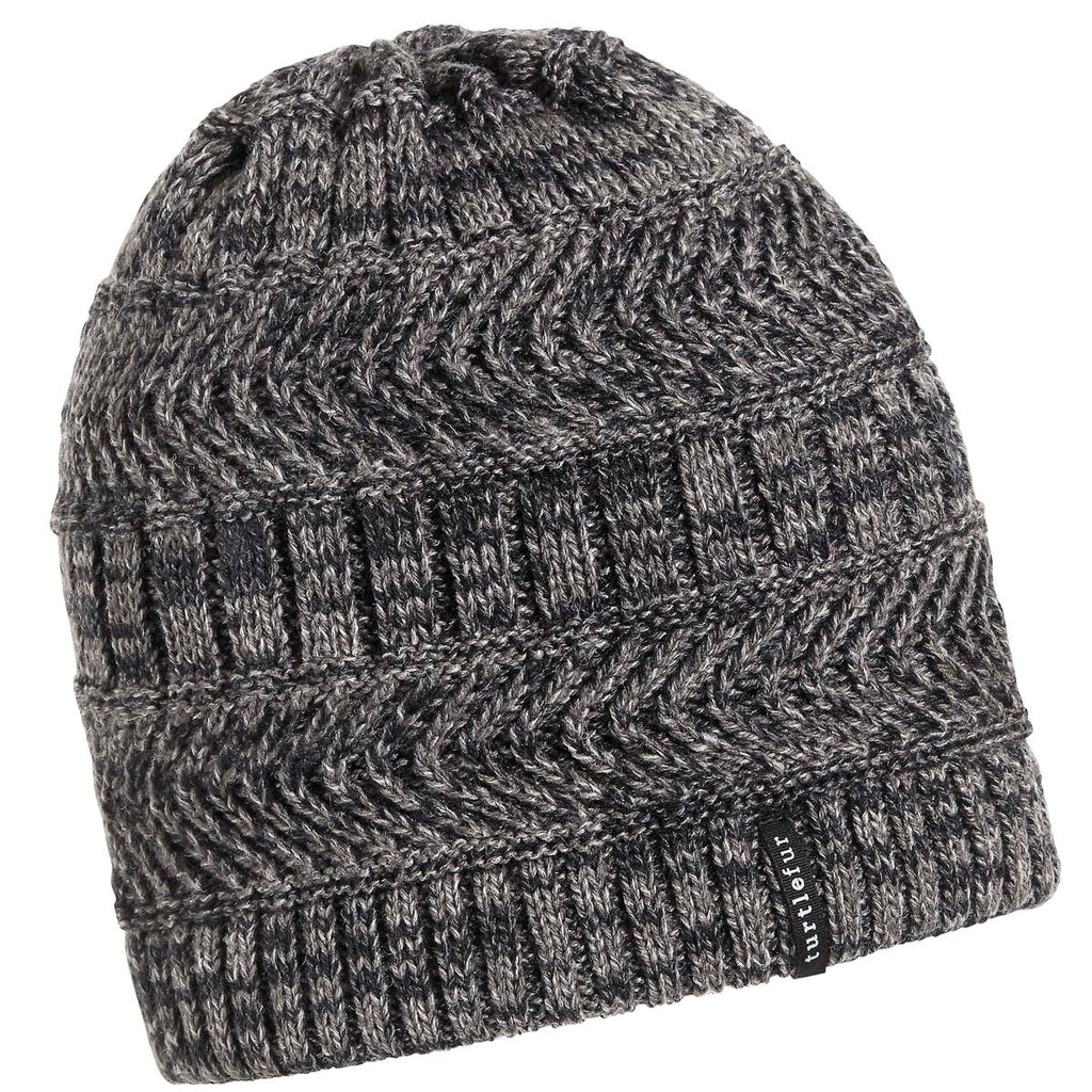 Blake Ragg Beanie / Color-Charcoal