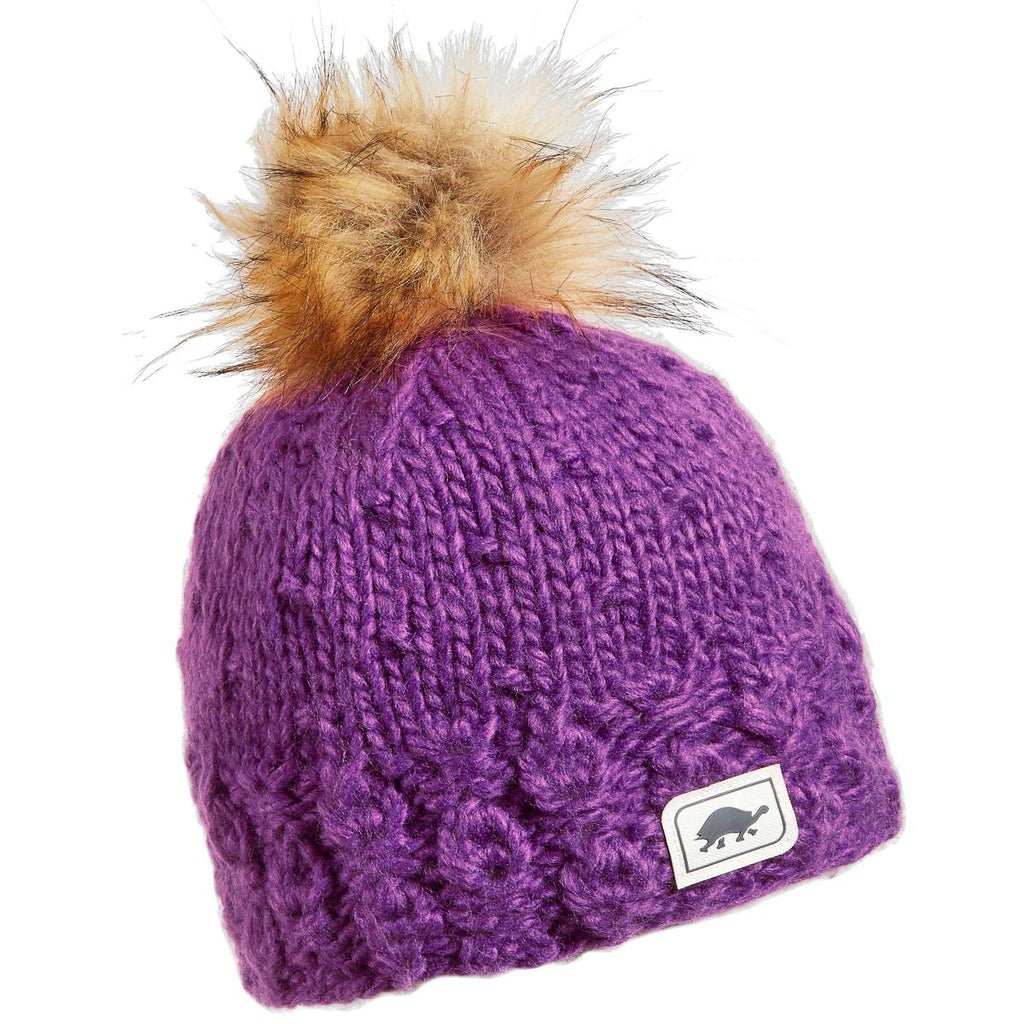 Toddler Hazel Faux Fur Pom / Color-Iris