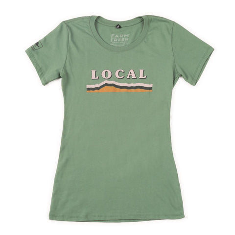 Women's Local T-Shirt / Color-Pine