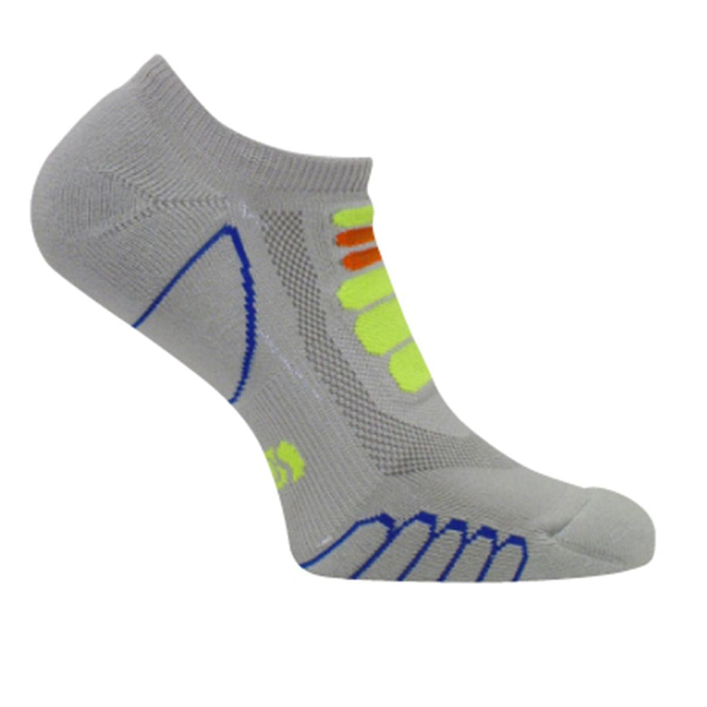 Lightweight Sprint Silver Ghost Low Cut Sock / Color-Gray