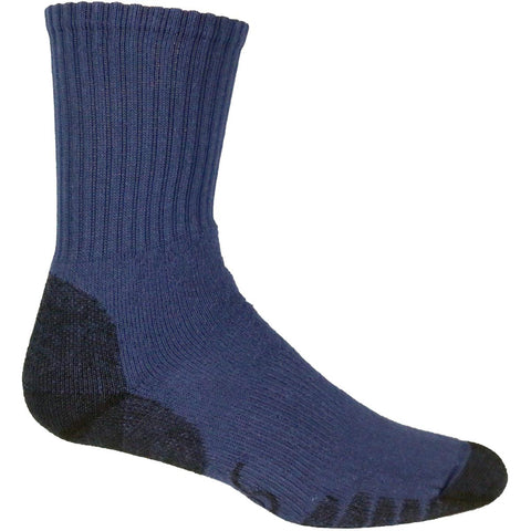 Eurosock Outdoor Trekking Crew Sock / Color - Navy