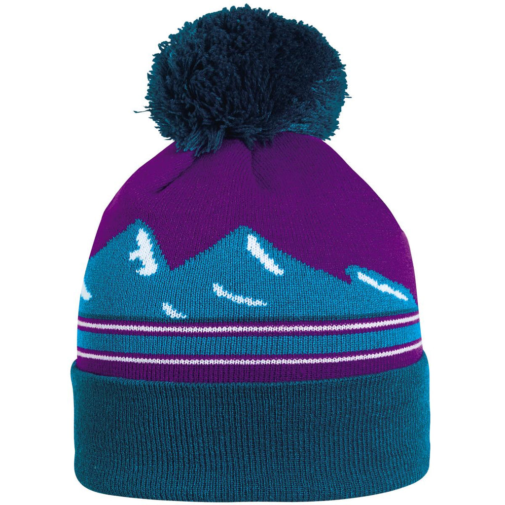 Mountains Pom / Color-Teal