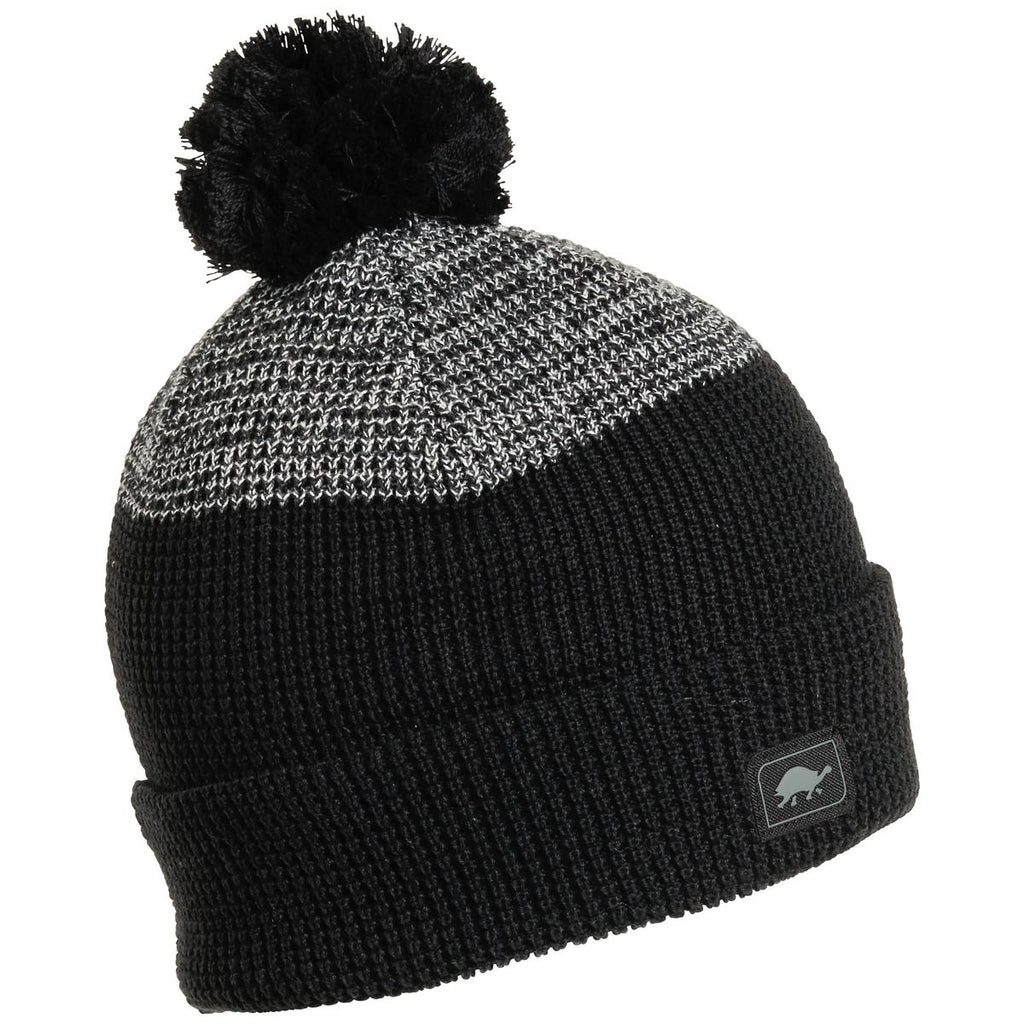 Keith Pom Beanie / Color - Black