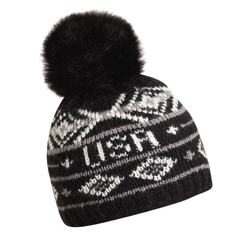 Homeland Faux Fur Pom / Color-Black