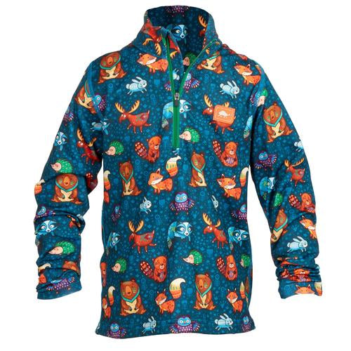 Boys Comfort Shell Carapace High Energy 1/4 Zip / Color-Party Animals