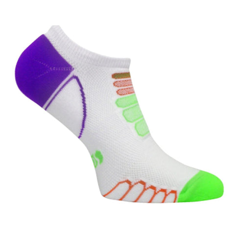 Ultra Lightweight Sprint Silver Ghost Low Cut Sock / Color-Green