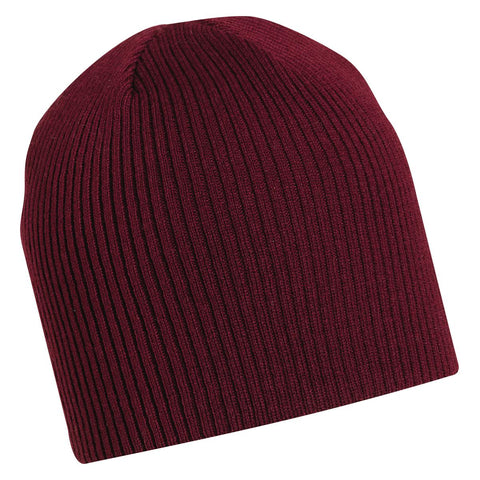 Kevin Knit Beanie / Color-Burgundy