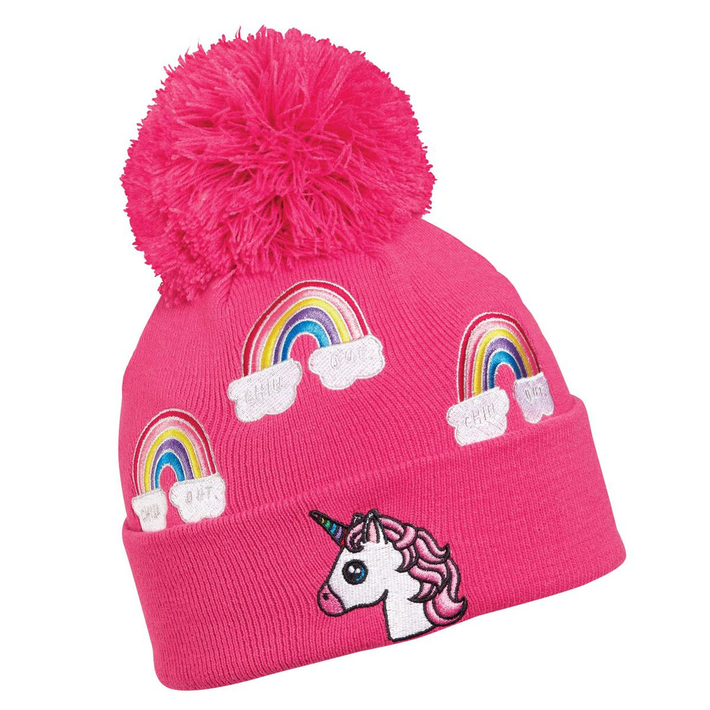 Kids Unicorn Pom / Color-Pink