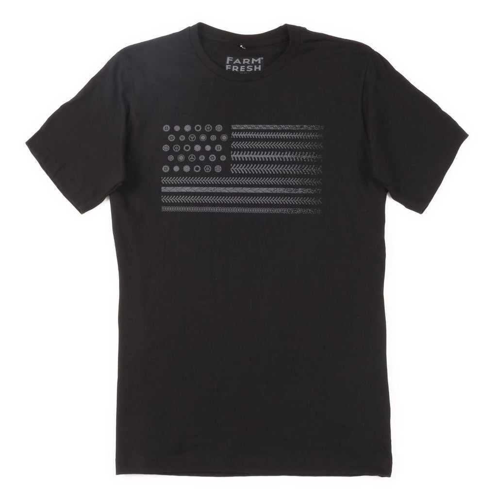Men's Trail Nation T-Shirt / Color - Black