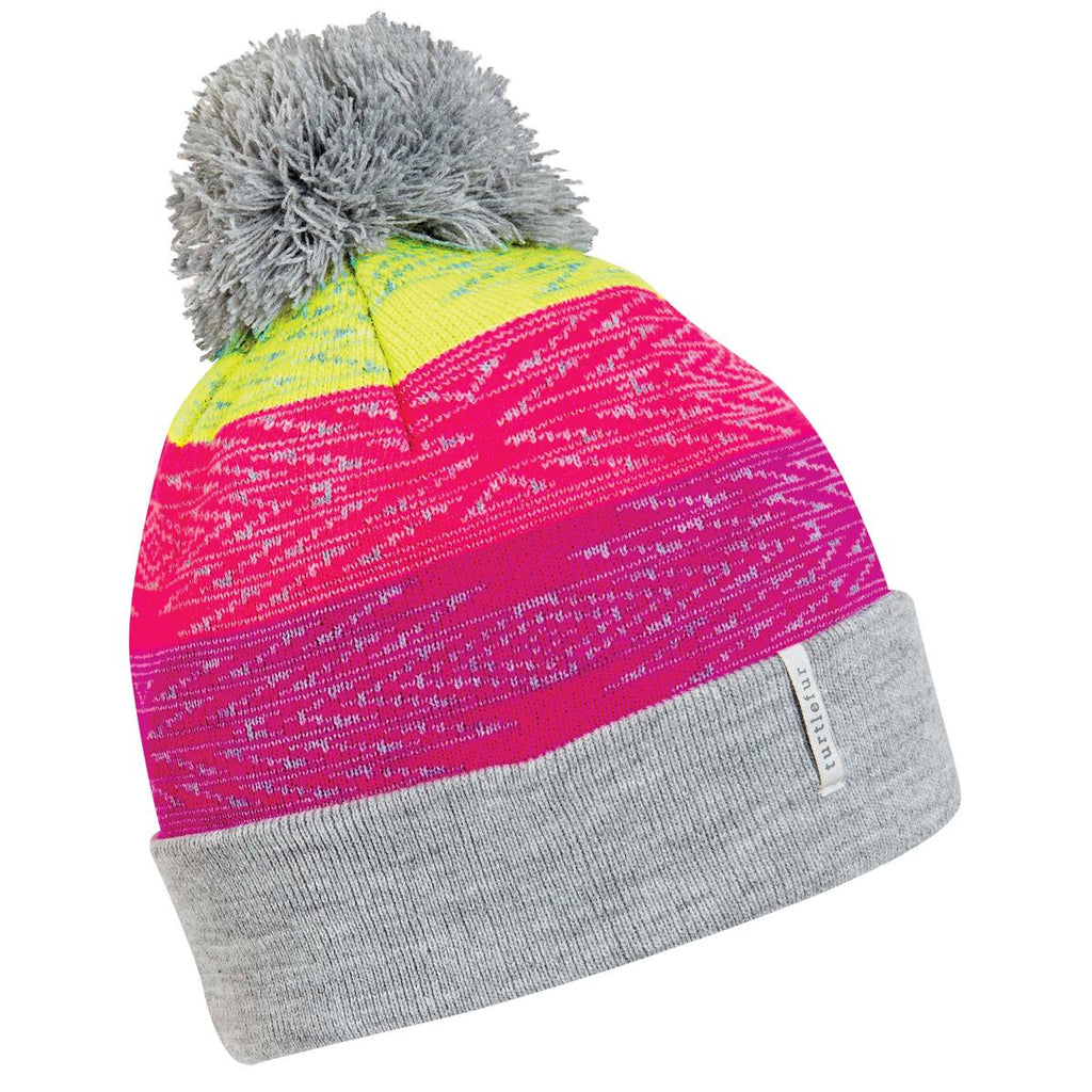 Kids Meadow Pom Beanie / Color-Ash