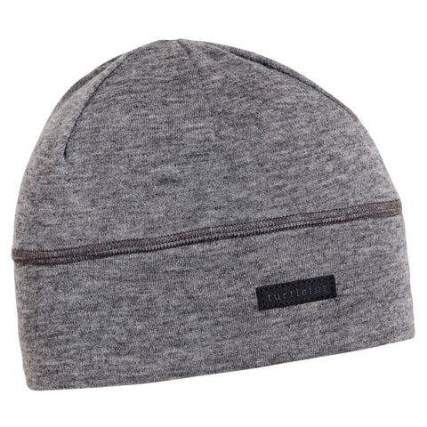 Merino Wool with Tencel Beanie / Color-Charcoal