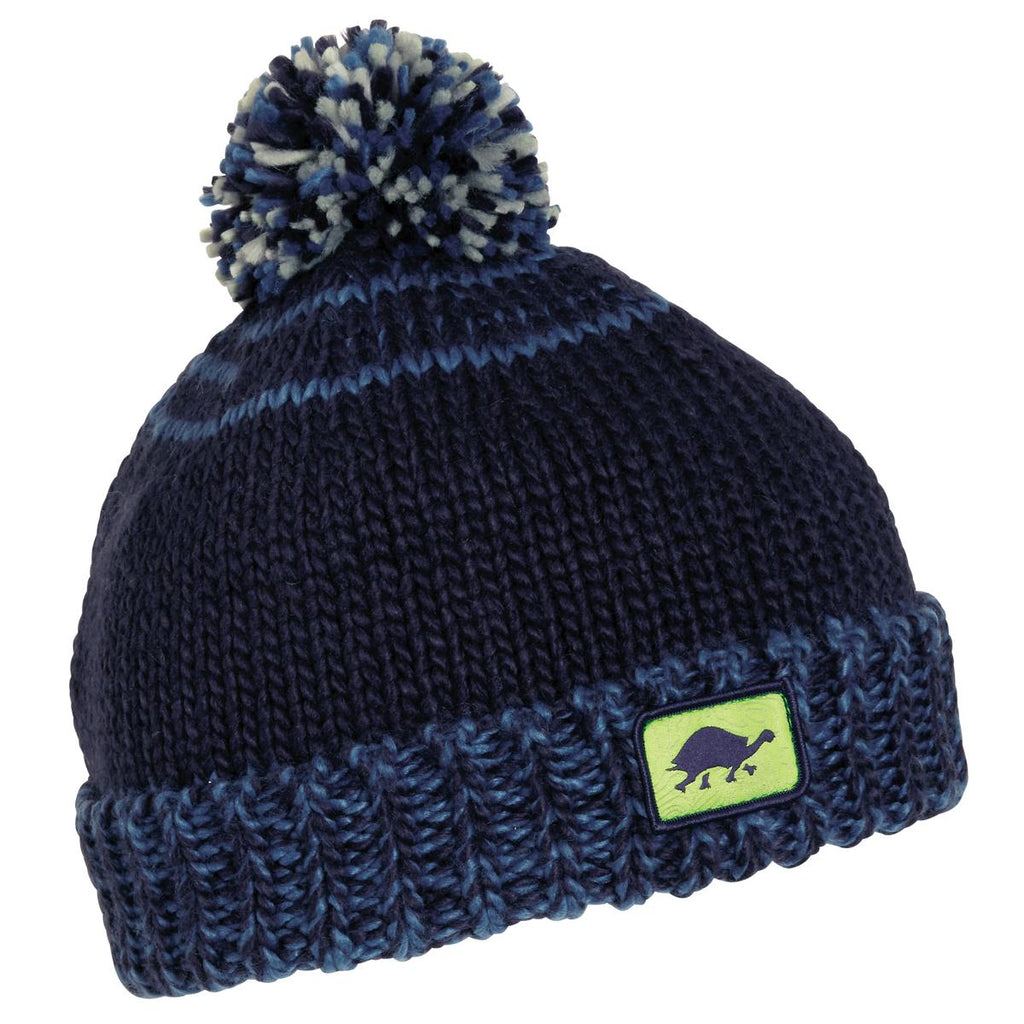 Kids' Butch Pom Beanie / Color - Navy