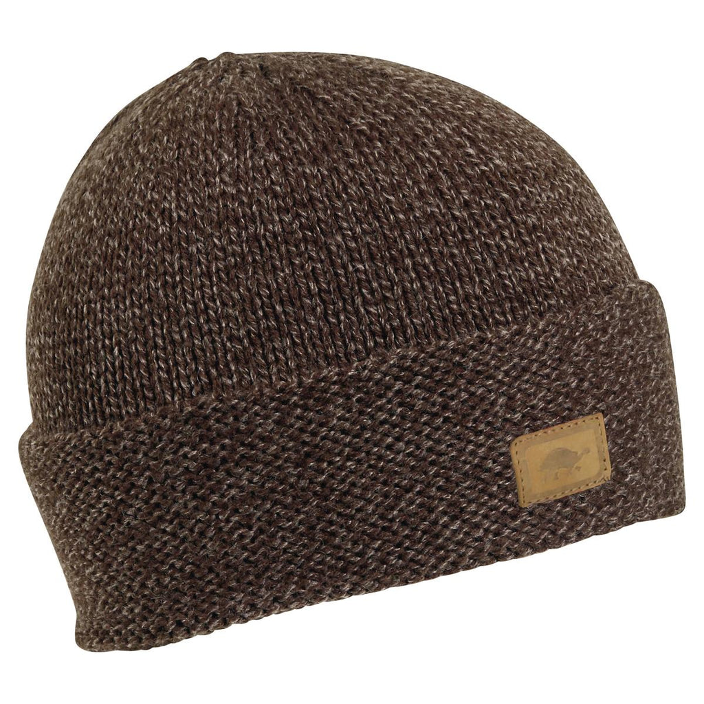 Phillip Watch Cap Ragg Wool Beanie / Color-Brown