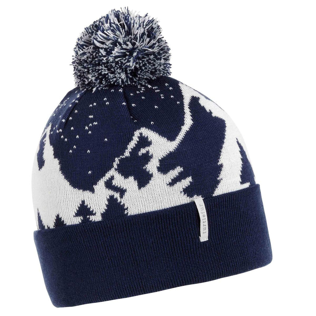 Snow Mountain Pom / Color-Navy