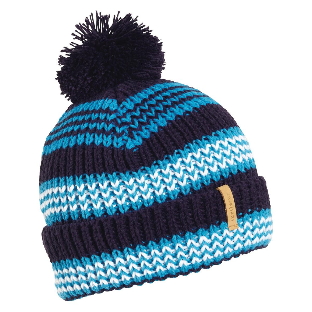 Rails Pom Beanie / Color-Navy