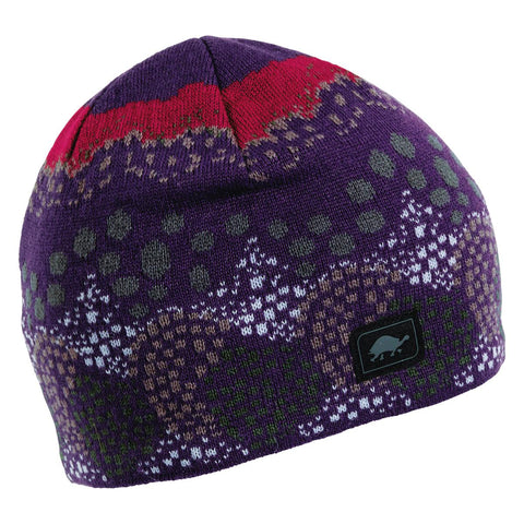 Topiary Knit Beanie / Color - Eggplant