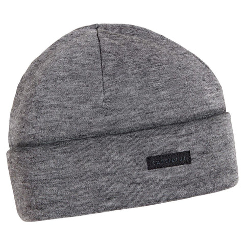 Merino Wool with Tencel Watch Cap / Color-Charcoal