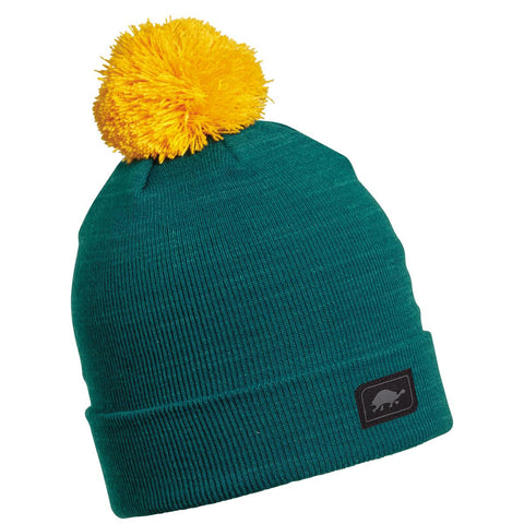 Yes Pom Beanie / Color-Kingfisher