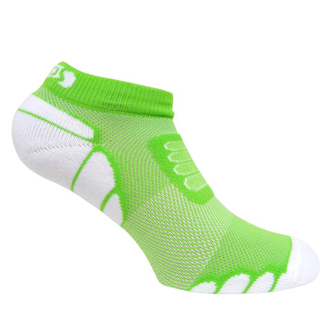 Ultra Lightweight Marathon Low-Cut Sock / Color-Lime