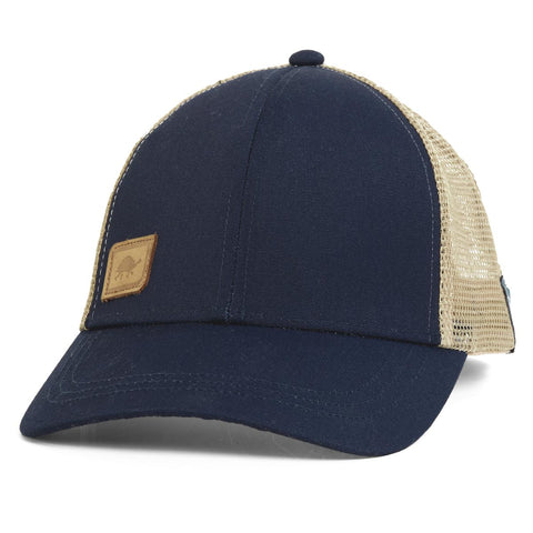 Casual Trucker Hat / Color - Navy