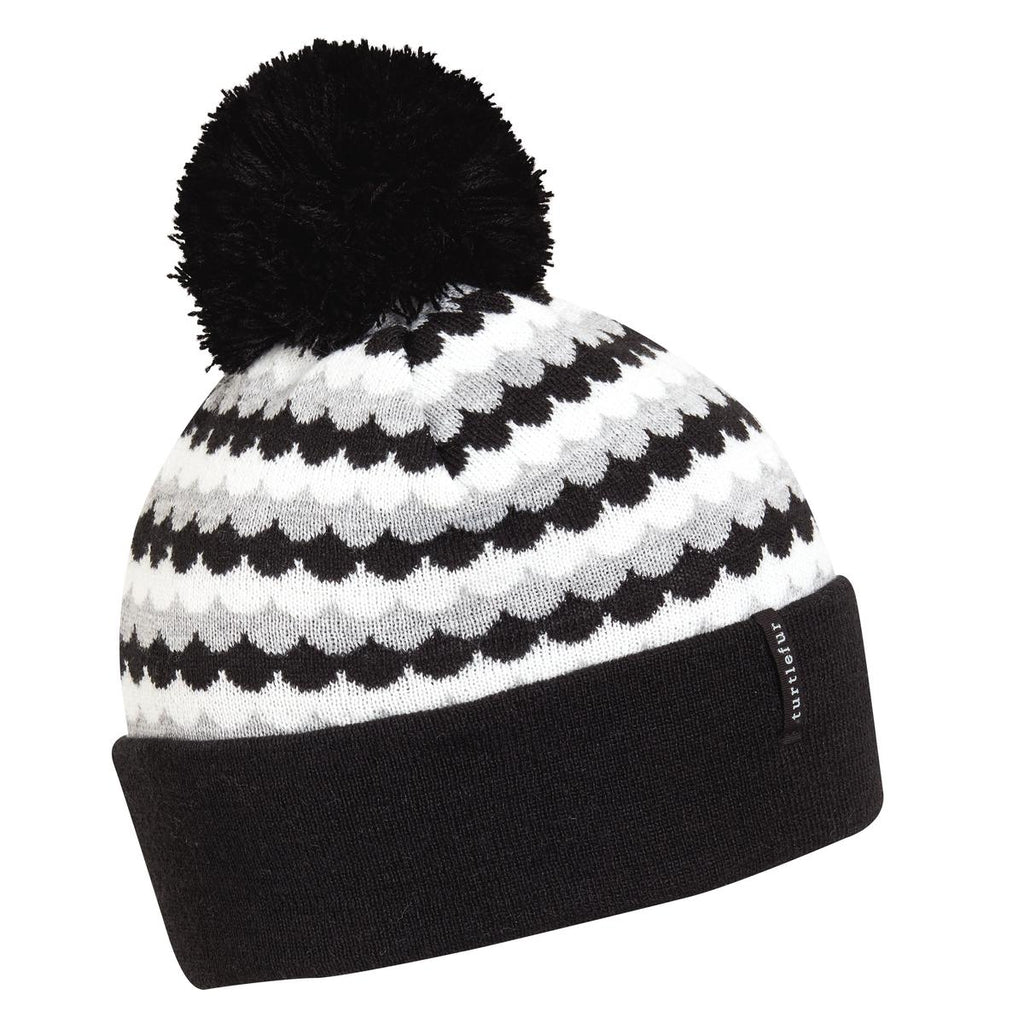 Scale Model Pom Beanie / Color-Black