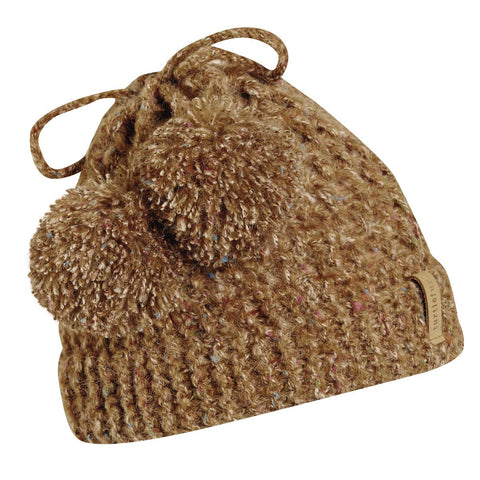 Grandma Gone Wild Knit Hat / Color-Latte