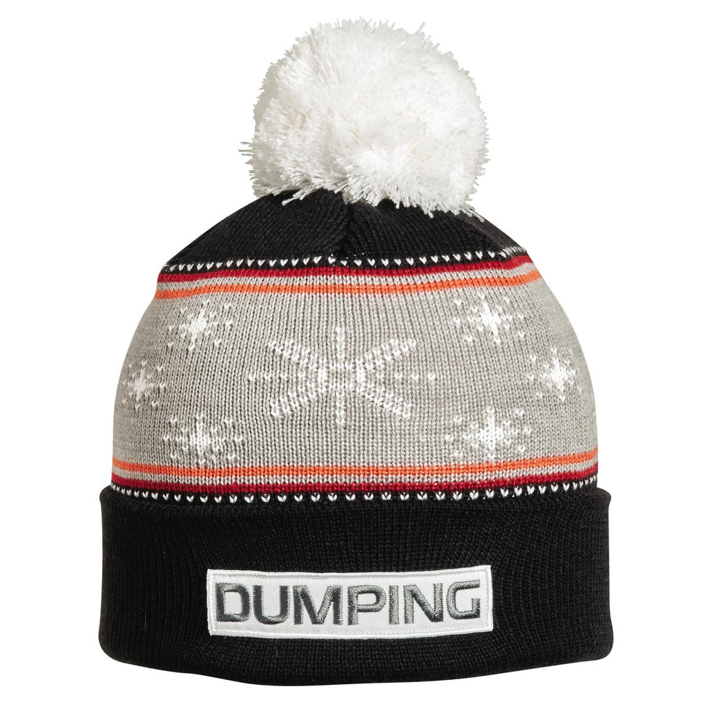 Dumping Pom Beanie / Color - Black