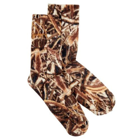 Fleece Socks / Color-Marsh Camo