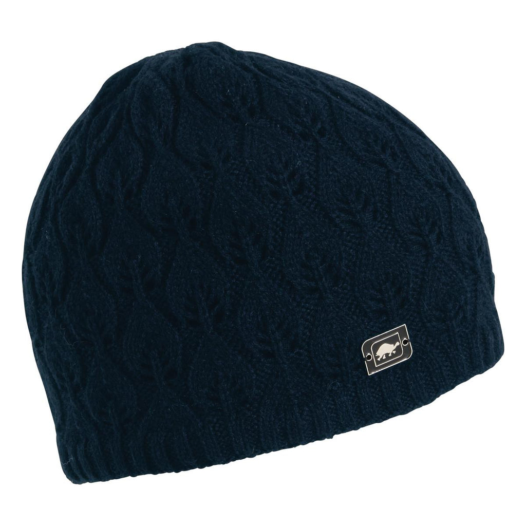 Aspen Knit Beanie / Color-Navy