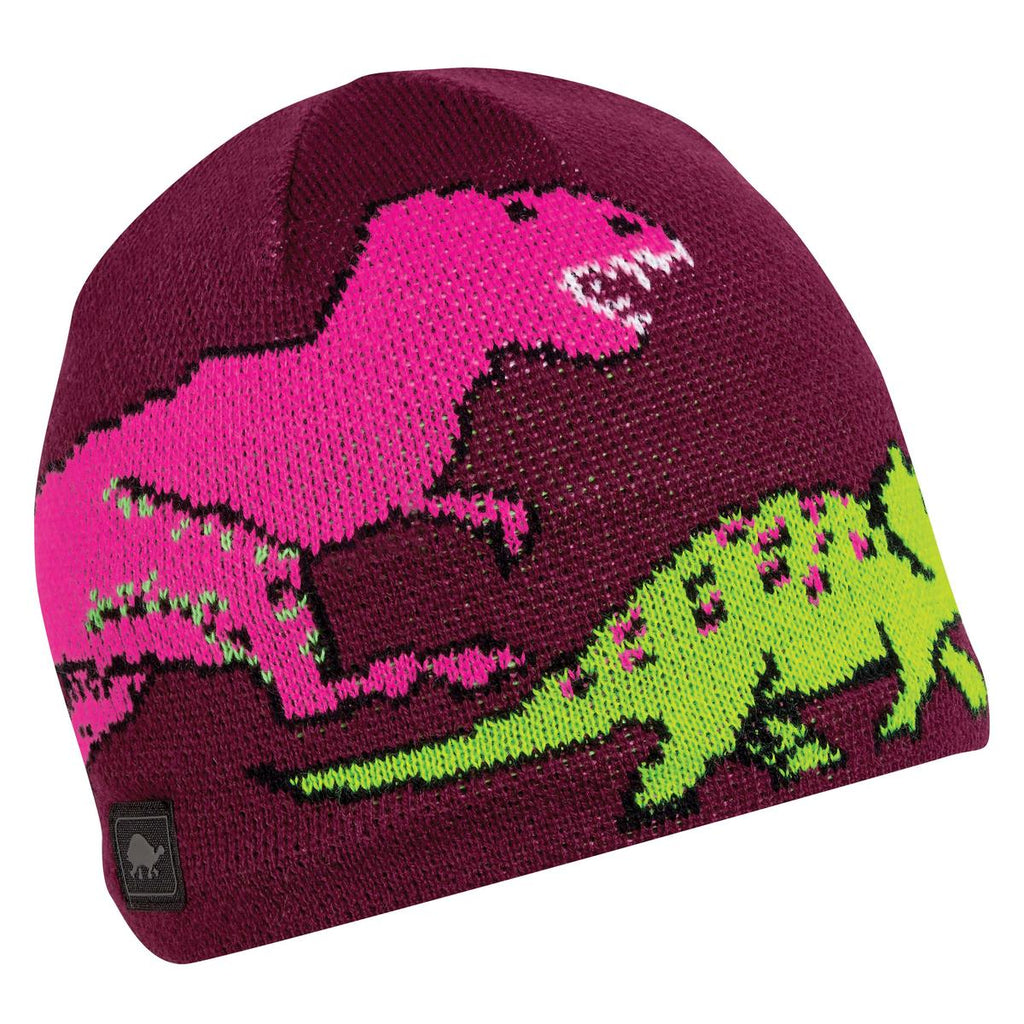 Kids Jurassic Beanie / Color-Berry