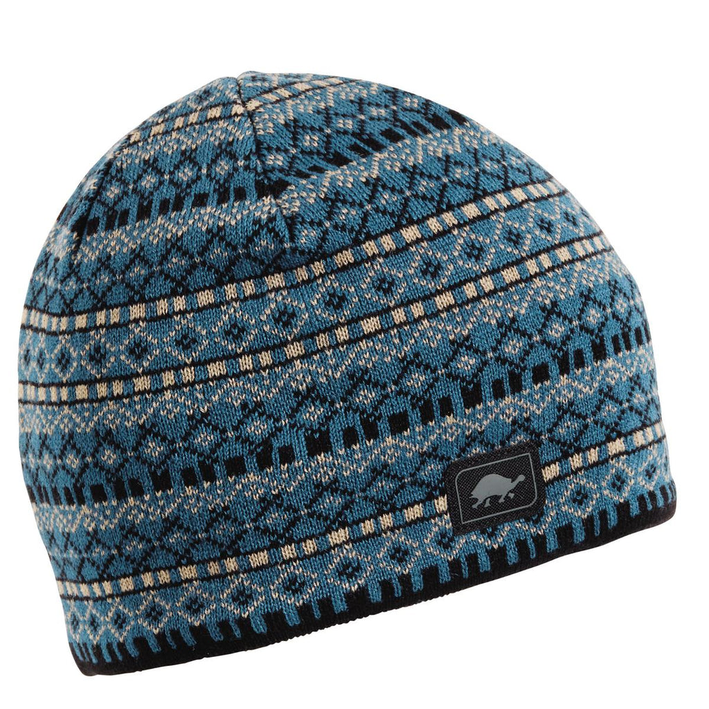 Franz Knit Beanie / Color-Blue