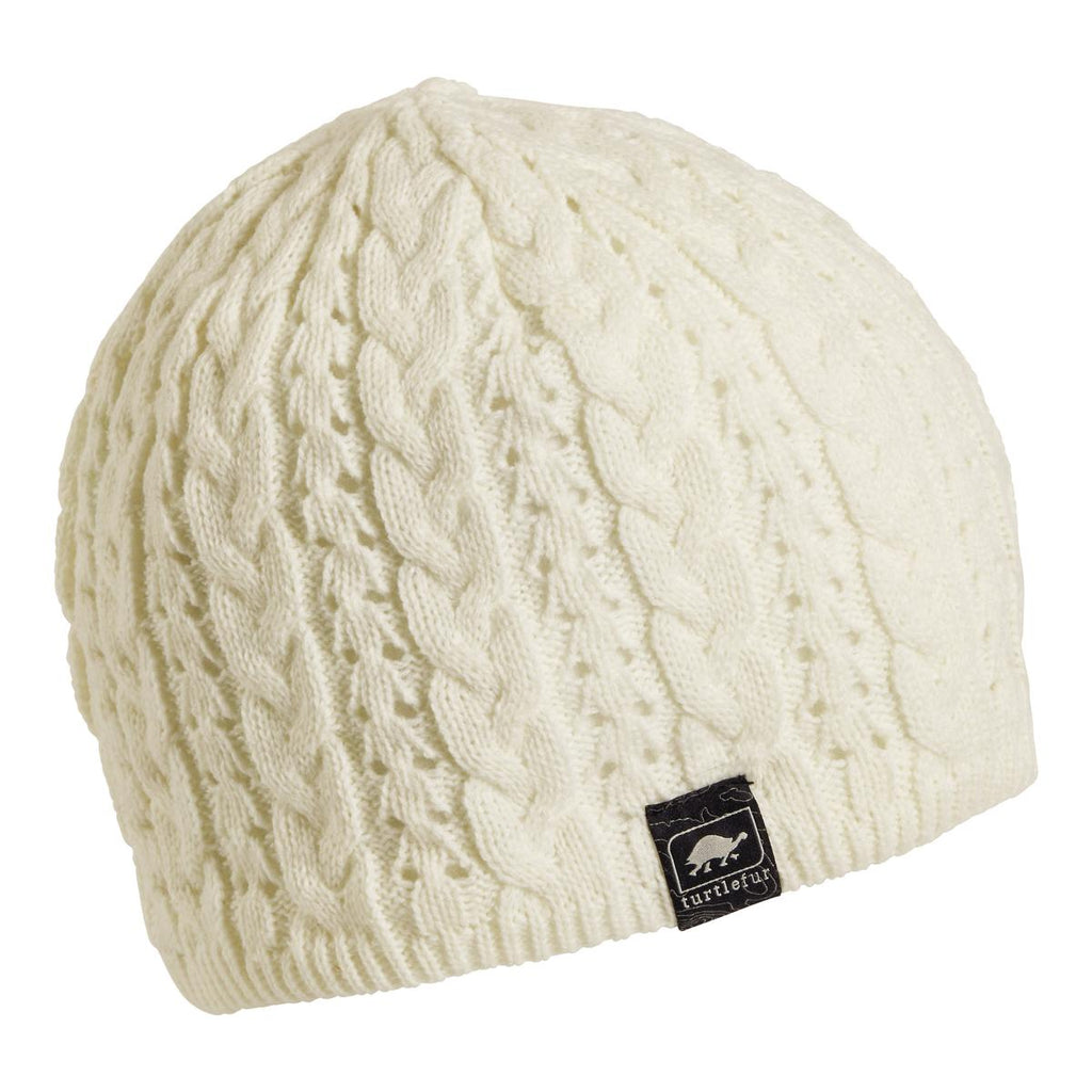 Zelda Knit Beanie / Color-Ivory