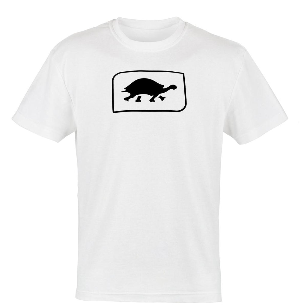 Turtle Fur Kids' Logo T-Shirt, White / Color-White