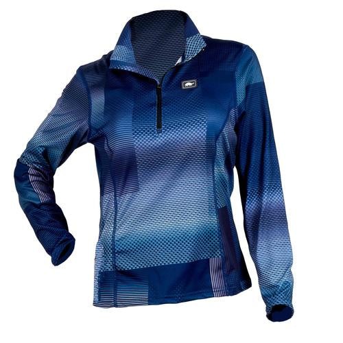 Women's Comfort Shell Kira High Energy 1/4 Zip / Color-Midnight Madness