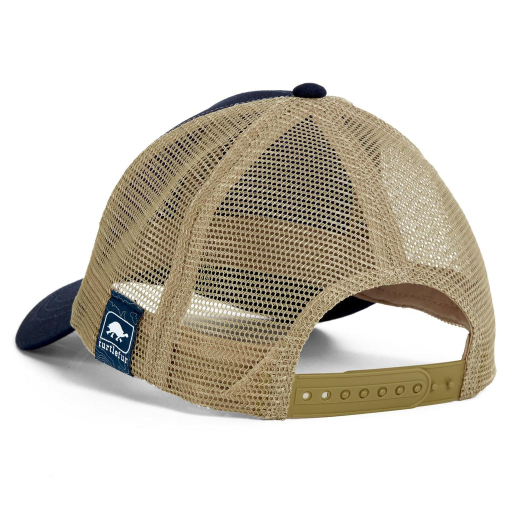 Casual Trucker Hat / Color-Navy