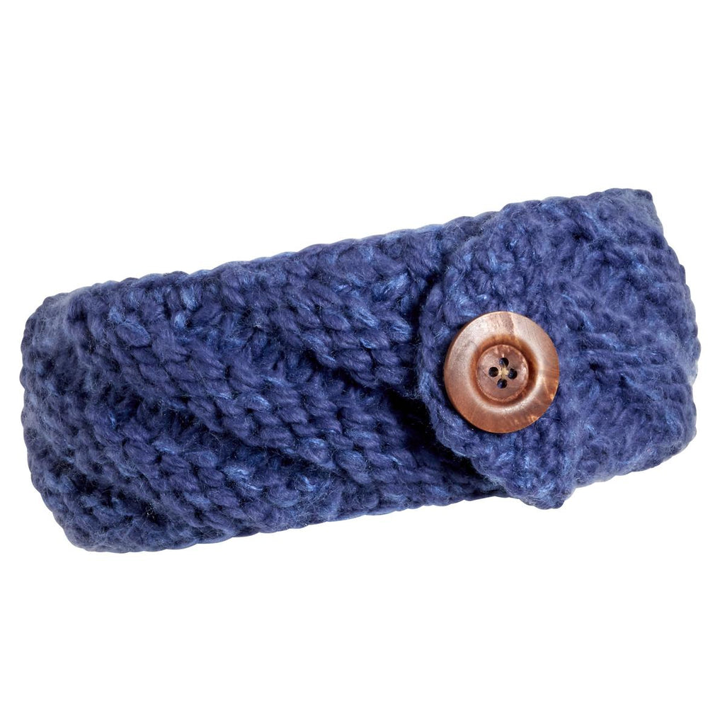 Head in a Hug Headband / Color-Blueberry