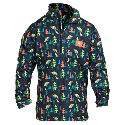 Boys Comfort Shell Carapace High Energy 1/4 Zip / Color-Alien Vacation
