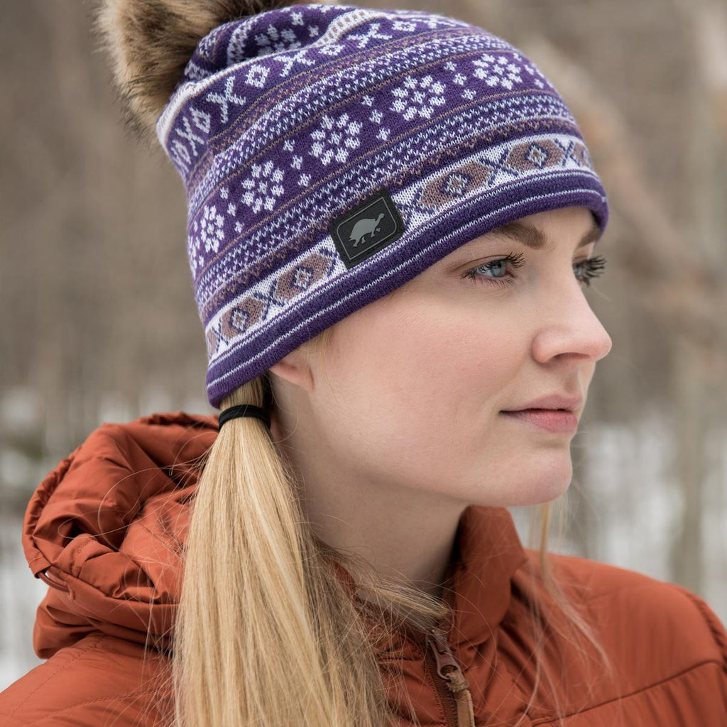 A Maze Ing Knit Beanie / Color - Leaf