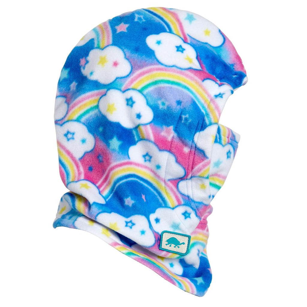 Kids Playful Prints Fleece Under Cover Overhood / Color-Rainbow Sky