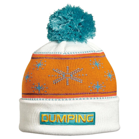 Dumping Pom Beanie / Color-White
