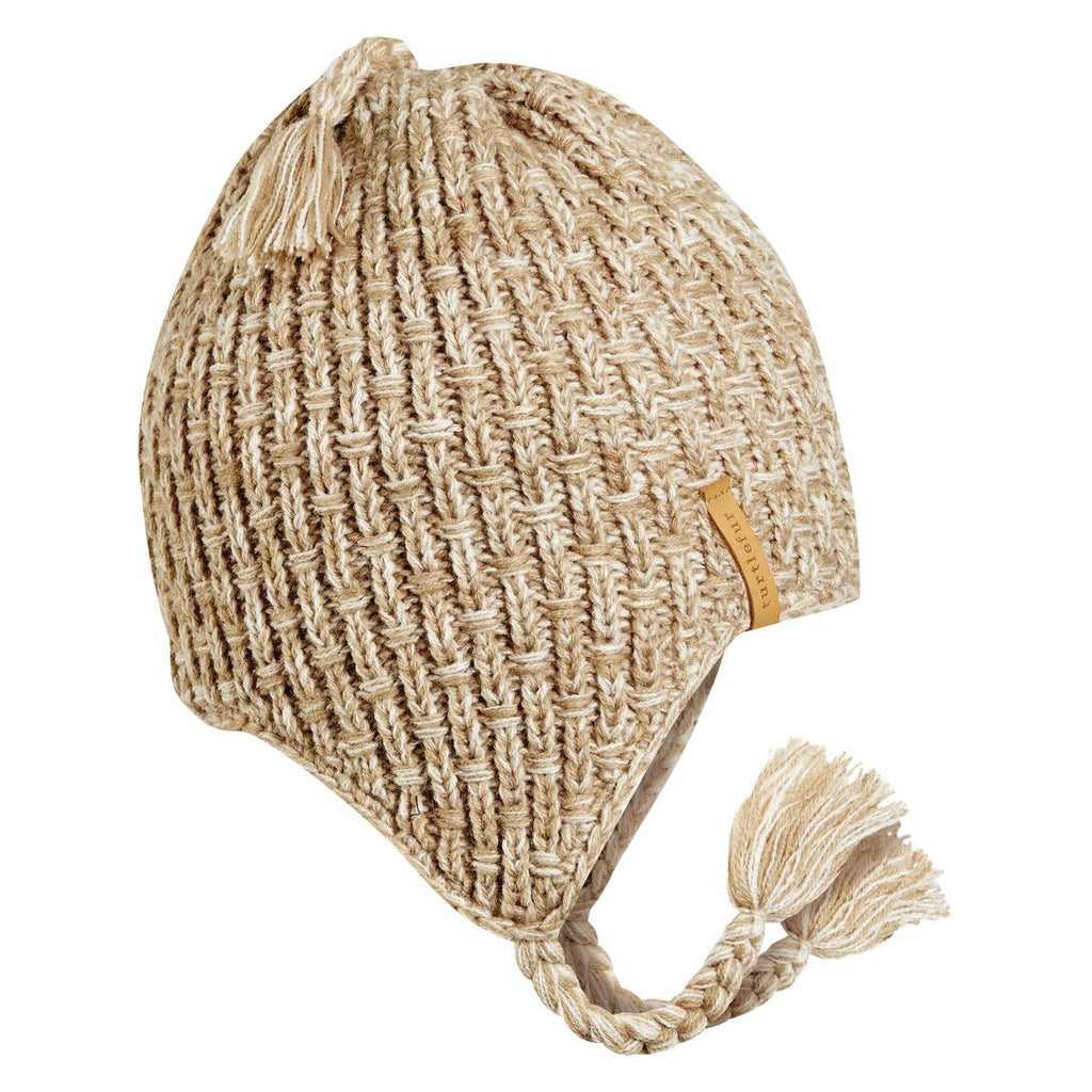 Khan Earflap Hat / Color-Beige
