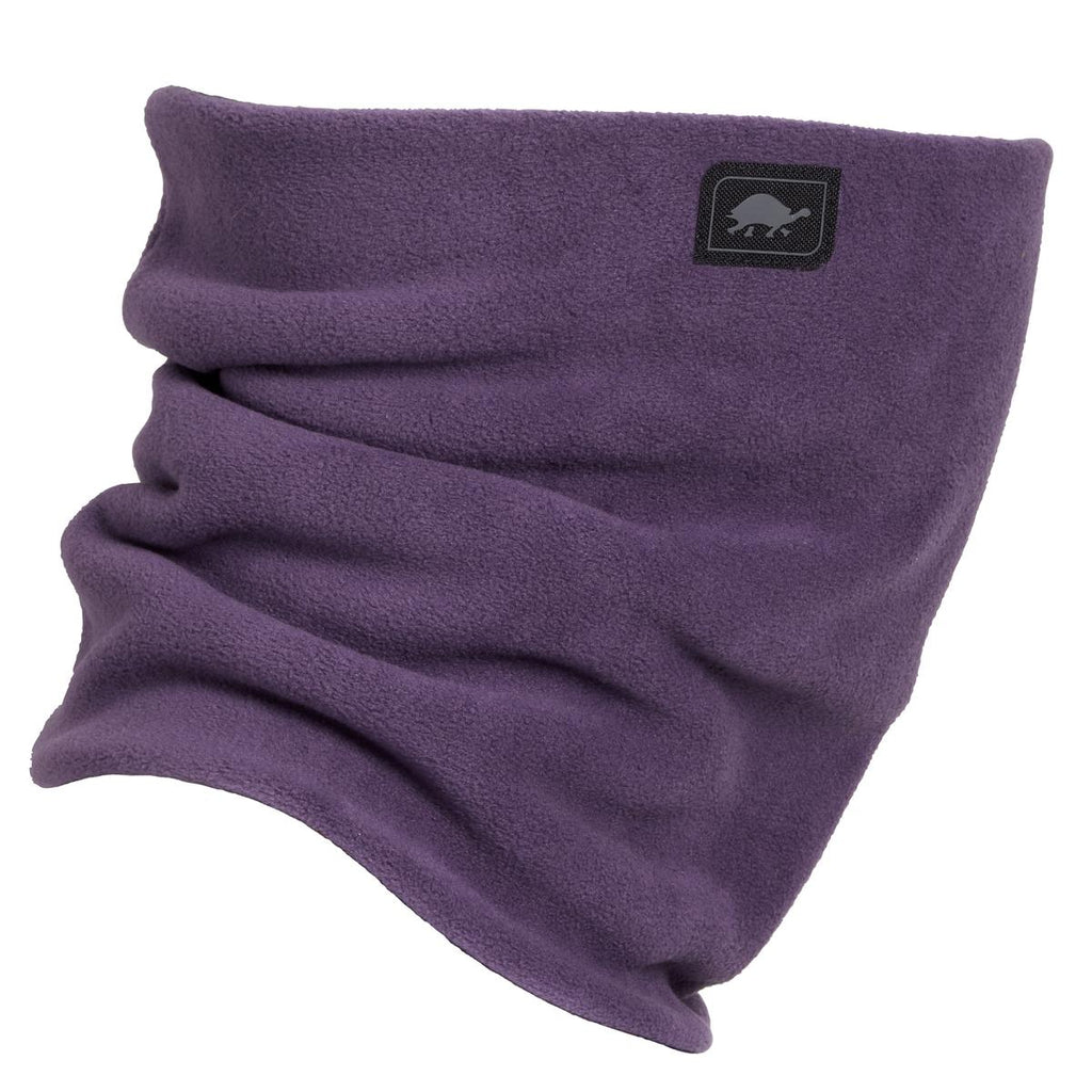 Double-Layer Classic Neck Warmer / Color - Grape Vine