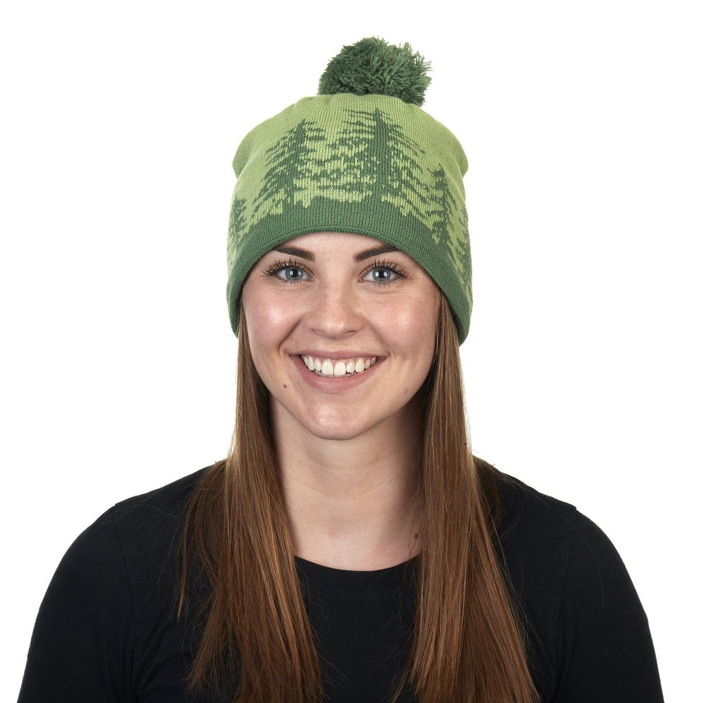 Treely Knit Beanie / Color - Grass