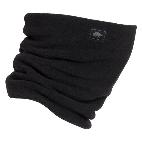 Double-Layer Classic Neck Warmer / Color - Black