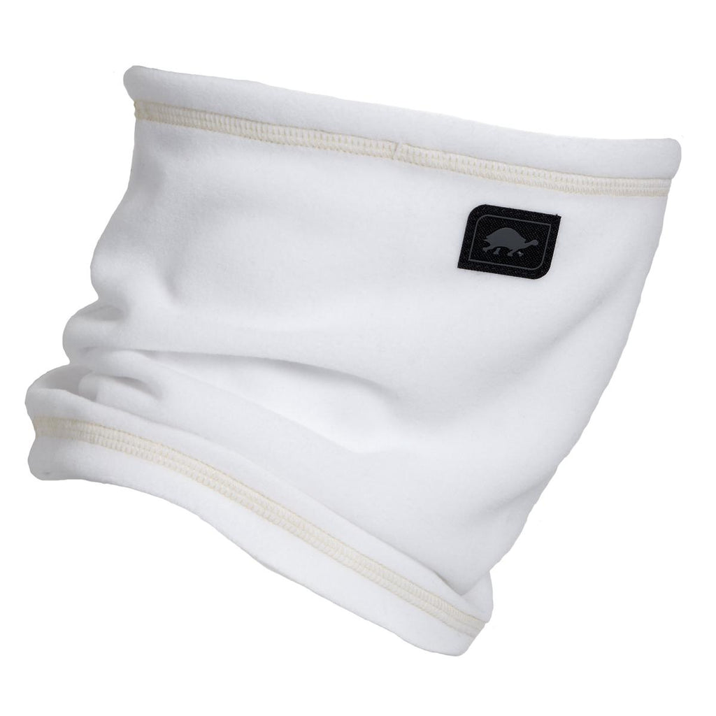 Micro Fur Fleece Single-Layer Neck Warmer / Color-White